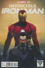 Invincible Iron Man (2015-2016) #1 Variant ZE: Fried Pie Variant