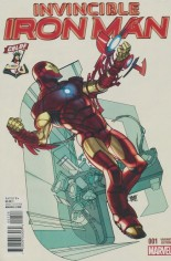 Invincible Iron Man (2015-2016) #1 Variant ZF: Comic Book Legal Defense Fund Variant