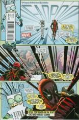 Deadpool (2016-2017) #4 Variant B: Secret Comic Cover