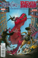 Moon Girl And Devil Dinosaur (2016-Present) #2 Variant A