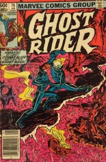 Ghost Rider (1973-1983) #76 Variant A: Newsstand Edition