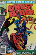 Ghost Rider (1973-1983) #55 Variant A: Newsstand Edition