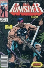 Punisher (1987-1995) #40 Variant A: Newsstand Edition