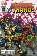 Deadpool vs Thanos #1 Variant I: BAM!/2nd & Charles Exclusive