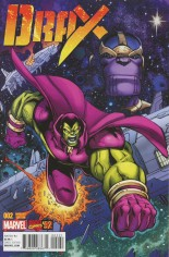 Drax (2016-Present) #2 Variant B: Incentive Marvel '92 Variant Cover