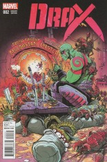 Drax (2016-Present) #2 Variant C: Incentive Variant Cover