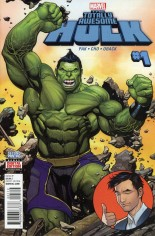 Totally Awesome Hulk #1 Variant H: 2nd Printing