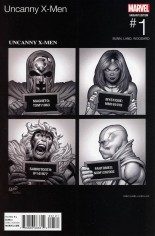 Uncanny X-Men (2016-2017) #1 Variant B: Marvel Hip-Hop Variant Cover