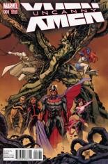 Uncanny X-Men (2016-2017) #1 Variant C: Incentive Variant Cover
