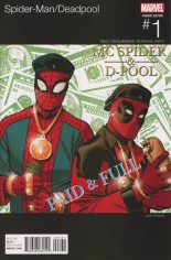 Spider-Man/Deadpool (2016-Present) #1 Variant B: Marvel Hip-Hop Variant Cover