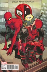 Spider-Man/Deadpool (2016-Present) #1 Variant E: Incentive Deadpool Variant Cover