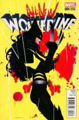 All-New Wolverine (2016-Present) #4 Variant C: Incentive Variant Cover