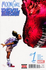 Moon Girl And Devil Dinosaur (2016-Present) #1 Variant E: 2nd Printing