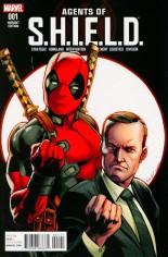Agents of S.H.I.E.L.D. (2016) #1 Variant C: Incentive Deadpool Variant Cover