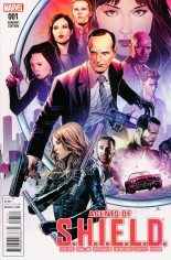 Agents of S.H.I.E.L.D. (2016) #1 Variant E: Incentive Marvel Agents of S.H.I.E.L.D. Variant Cover