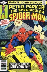 Spectacular Spider-Man (1976-1998) #35 Variant B: Direct Edition
