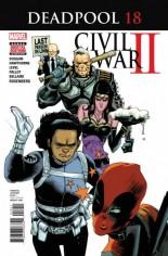 Deadpool (2016-2017) #18 Variant A