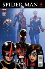 Spider-Man (2016-2017) #8 Variant A