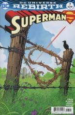 Superman (2016-2018) #7 Variant A