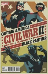 Civil War II (2016) #6 Variant B: Michael Cho Variant