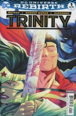 Trinity (2016-2018) #1 Variant A