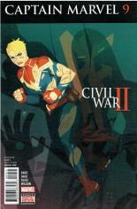 Captain Marvel (2016-2017) #9 Variant A