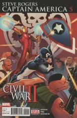 Captain America Steve Rogers #5 Variant A
