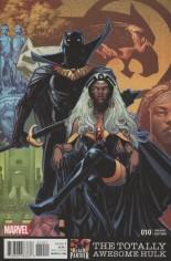 Totally Awesome Hulk #10 Variant B: Black Panther 50th Anniv Variant; BLACK PANTHER 50TH ANNIV VAR CW2