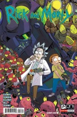 Rick and Morty (2015-2020) #18 Variant B: Incentive Variant Cover