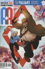 Adventures Of Archer And Armstrong #8 Variant C: Cover C 10 Copy Cover Level; CVR C 10 COPY INCV LEVEL