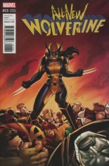 All-New Wolverine (2016-Present) #13 Variant C: Lim Classic Variant; LIM CLASSIC VAR