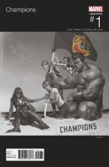 Champions (2016) #1 Variant J: Hip Hop Variant