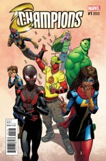 Champions (2016) #1 Variant E: Mike Hawthorne Deadpool Variant; HAWTHORNE DEADPOOL VAR NOW