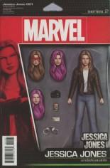 Jessica Jones (2016-Present) #1 Variant F: Variant Action Figure Cover