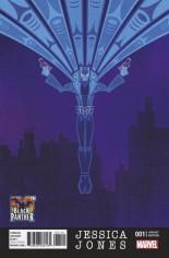 Jessica Jones (2016-Present) #1 Variant B: Black Panther 50th Anniversary Variant Cover