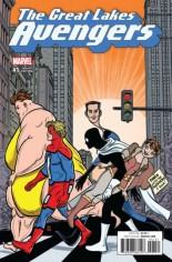 Great Lakes Avengers (2016-Present) #1 Variant E