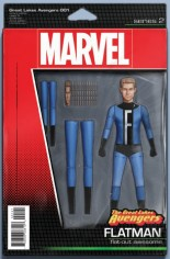 Great Lakes Avengers (2016-Present) #1 Variant D: Action Figure Variant