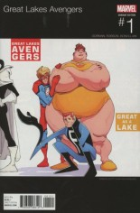 Great Lakes Avengers (2016-Present) #1 Variant B: Hip Hop Variant