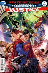 Justice League (2016-2018) #7 Variant A