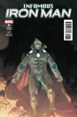 Infamous Iron Man (2016-Present) #1 Variant G
