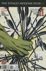 Totally Awesome Hulk #11 Variant A: Cw2