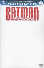 Batman Beyond (2016-Present)  #1 Variant C: Blank Variant Cover