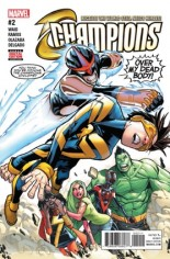 Champions (2016) #2 Variant A