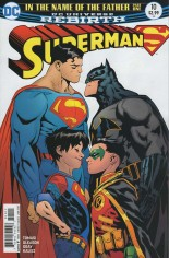 Superman (2016-2018) #10 Variant A