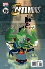 Champions (2016) #2 Variant E: Steam Variant