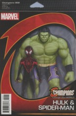 Champions (2016) #2 Variant B: Action Figure Variant