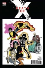 Death Of X (2016-2017) #3 Variant C