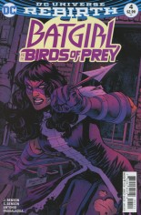 Batgirl and the Birds of Prey (2016-2018) #4 Variant A