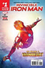 Invincible Iron Man (2017) #1 Variant A