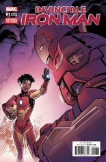 Invincible Iron Man (2017) #1 Variant G: Divided We Stand Variant